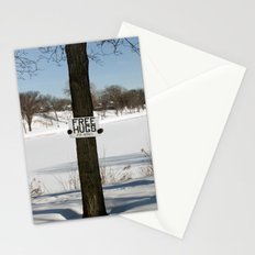 Free Hugs Tree Stationery Cards