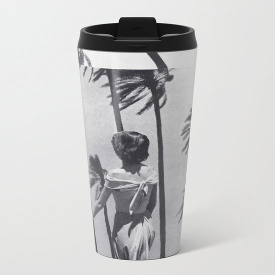 Tropical Storm Metal Travel Mug