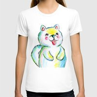 puppy T-shirts featuring Puppy by Suvi Kari