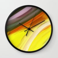 halloween Wall Clocks featuring Halloween by Paul Kimble