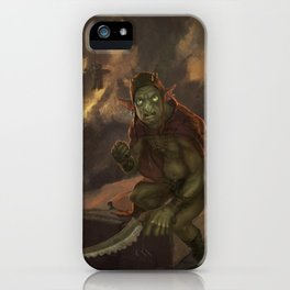 Goblyn Chief iPhone Case