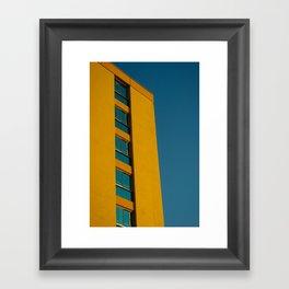 Towering Gold Framed Art Print