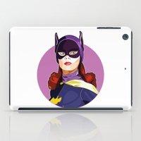 batgirl iPad Cases featuring Batgirl by Rabassa