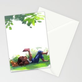 Weekend Goals Stationery Cards