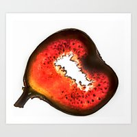 fig Art Prints featuring Fig by Stephan Cooper