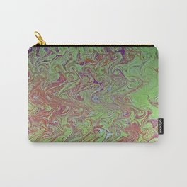 Thermal Curls Water Marbling Carry-All Pouch
