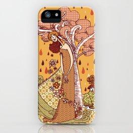 Menina Natureza iPhone Case