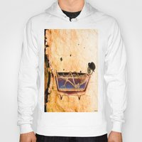 bathroom Hoodies featuring Monsieur Bone in the bathroom by Ganech joe