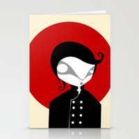 alone Stationery Cards featuring Alone by Volkan Dalyan