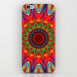 Colors kaleidoscope pattern iPhone Skin