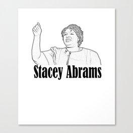 Stacey Abrams - Georgia Canvas Print