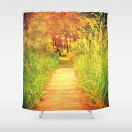 The Path 2 Shower Curtain