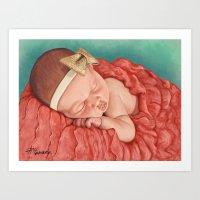 Pretty Baby Art Print
