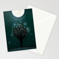 the midnight tree Stationery Cards