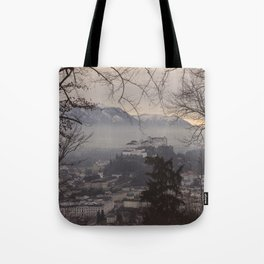 Salzburg Castle Tote Bag