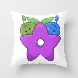 Stardrop Bois  Throw Pillow
