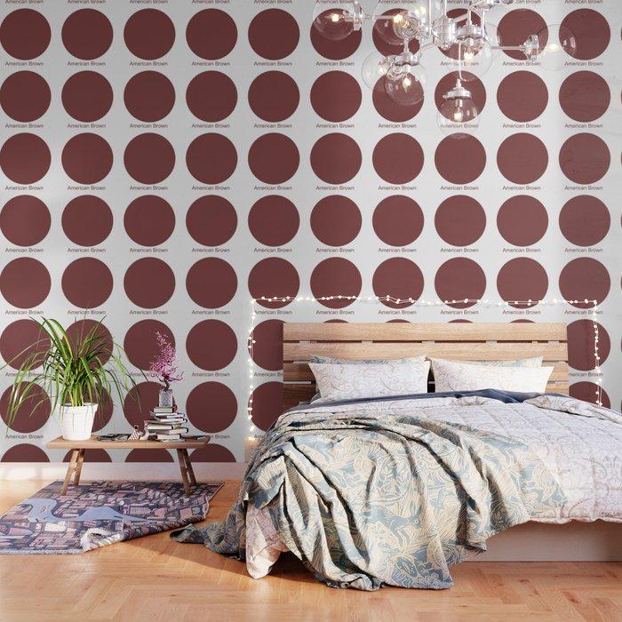 American Brown Wallpaper