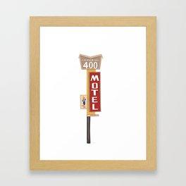 Imperial 400 Motel Framed Art Print