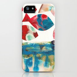 I Catch Eight Fish, Splash  Splash Splash iPhone Case