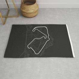 Silverstone circuit Rug