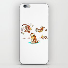 Calvin and Hobbes all iPhone Skin