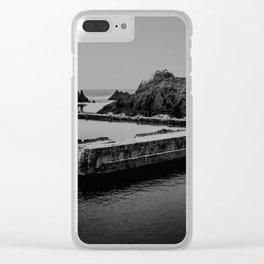 Sutro Baths Ruins Clear iPhone Case