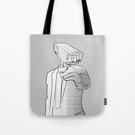Sir Veillance Tote Bag