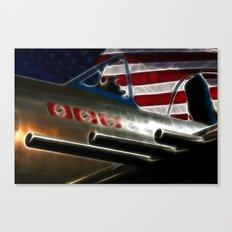 American Victory Canvas Print