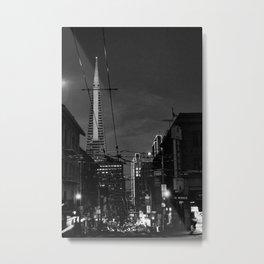 Transamerica Tower San Francisco Metal Print