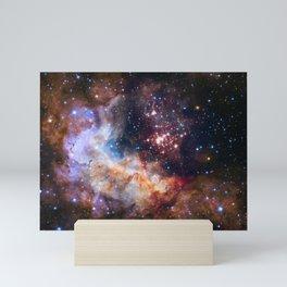 Space Nebula Galaxy Stars | Comforter Mini Art Print