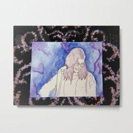 BØRNS WATERCOLOR Metal Print