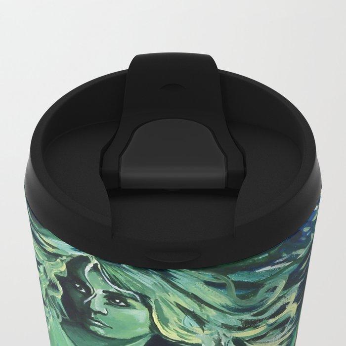Impossible Mermaid Metal Travel Mug