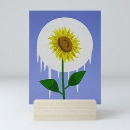 Sunflower in the Moon Mini Art Print