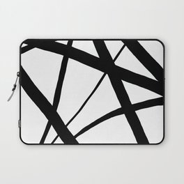 A Harmony of Lines and Shapes Laptop Sleeve
