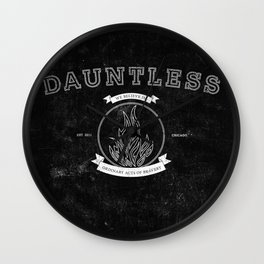 Dauntless Varsity Wall Clock