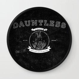 Dauntless Varsity Wall Clock
