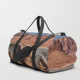 Navajo_Bridge - Marble_Canyon, Arizona Duffle Bag