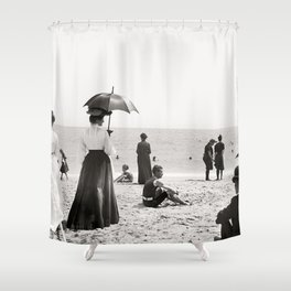 Palm Beahc Floride Shower Curtain
