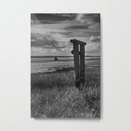At Harty Ferry Metal Print