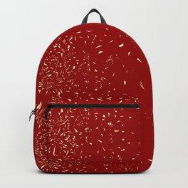 Fleck Background Backpack