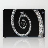 haunted mansion iPad Cases featuring Haunted Mansion dröste by designoMatt