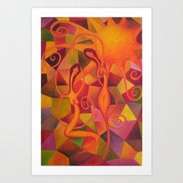 Danza del Sol Art Print