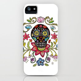 Calaca Dieguito iPhone Case