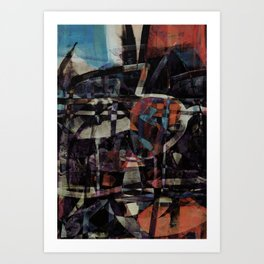 disquiet twenty five (I'm absent from the place I ought to be) Art Print