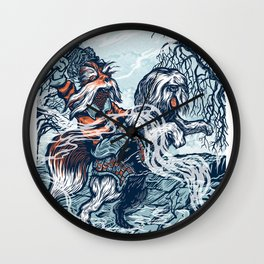 Sir Didymus Wall Clock