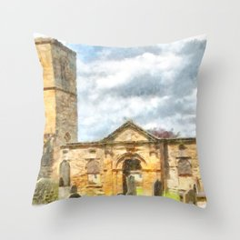 Old Holy Trinity Church, Wentworth Throw Pillow