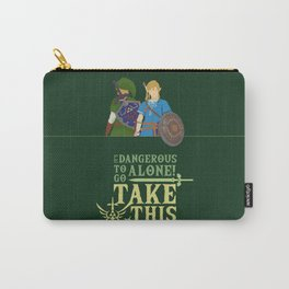 The legend of zelda - Minimalist Quote Game Carry-All Pouch