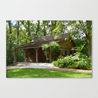 cabin Canvas Prints featuring Cabin by G.E. North
