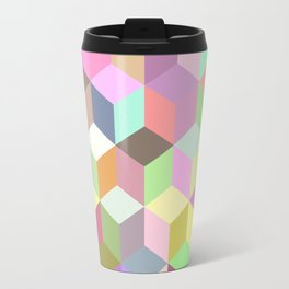 Geometric Art Travel Mug