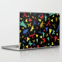insects Laptop & iPad Skins featuring Insects by Nabaa Baqir